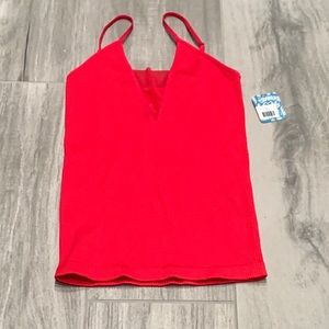 NWT Intimately by Free People red mesh cami - XS/S
